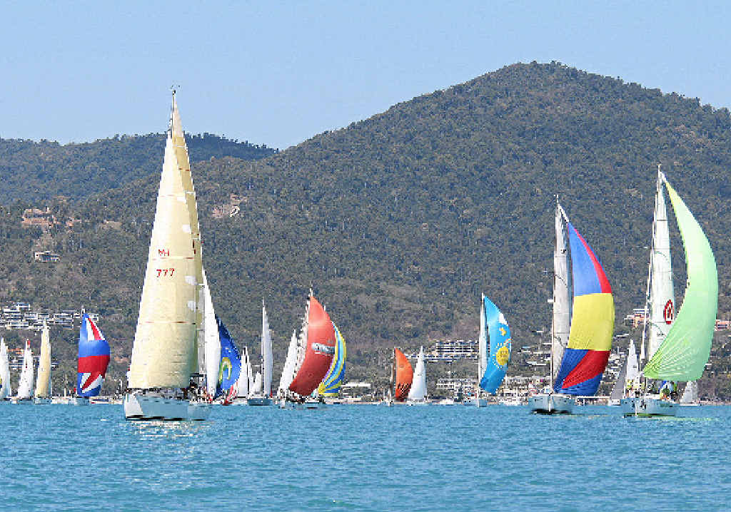 SPECTACULAR SIGHT: Already 113 entries have been received for this year's Race Week. Photo Sharon Smallwood