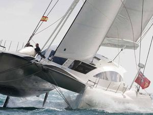 Stardust one of 45 multihulls to compete at Hamo