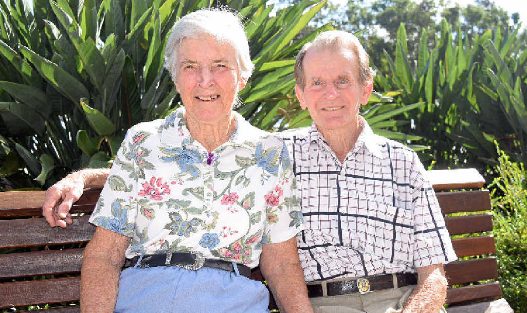 IN LOVE: Alice and Ken Looke have been married for 53 years and on Saturday, Alice will celebrate her 80th birthday.