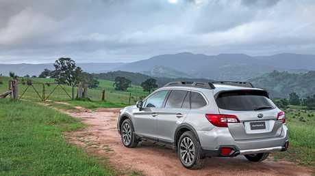 The 2016 model Subaru Outback 2.0D Premium.