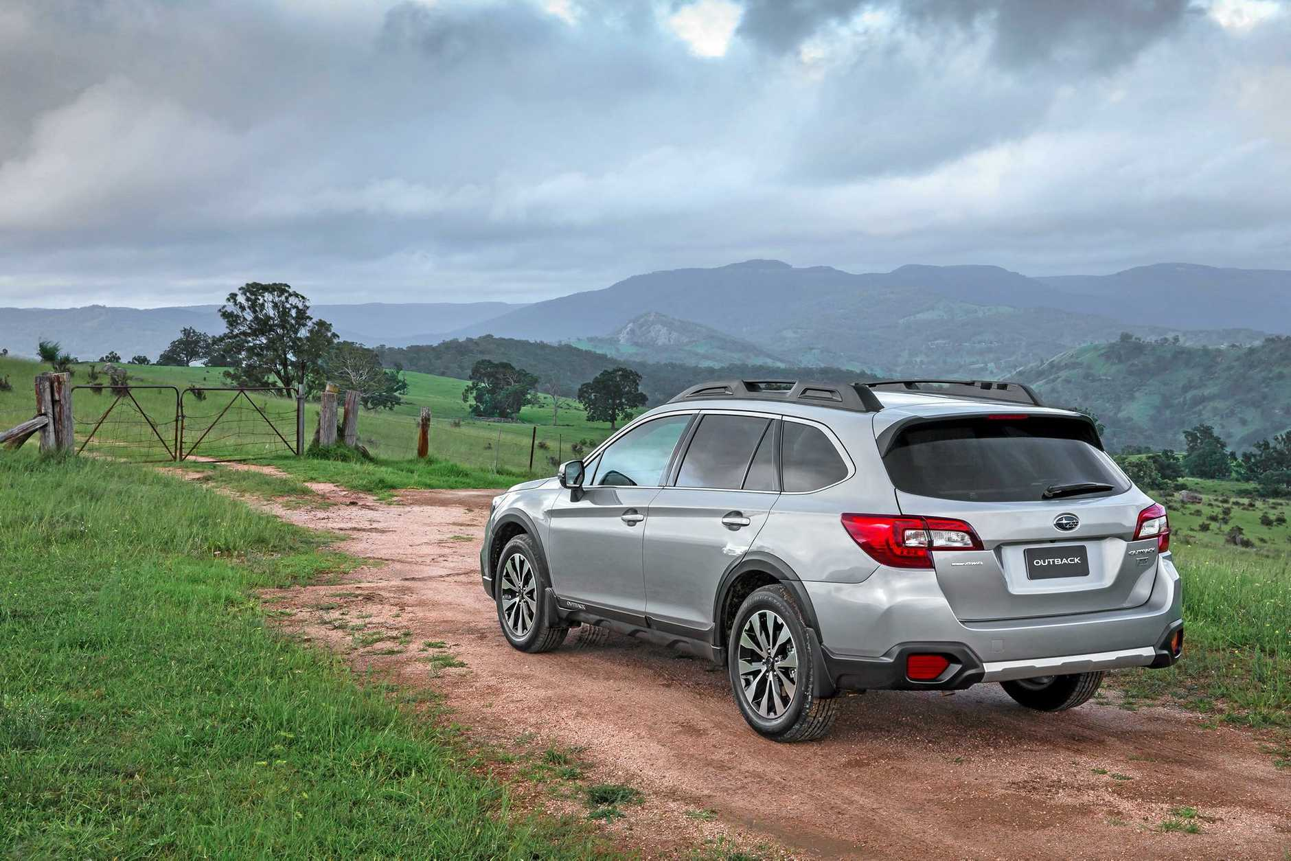 The 2016 model Subaru Outback 2.0D Premium.