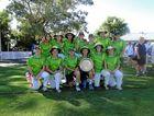 ABOVE: CHS girls' cricket team.
