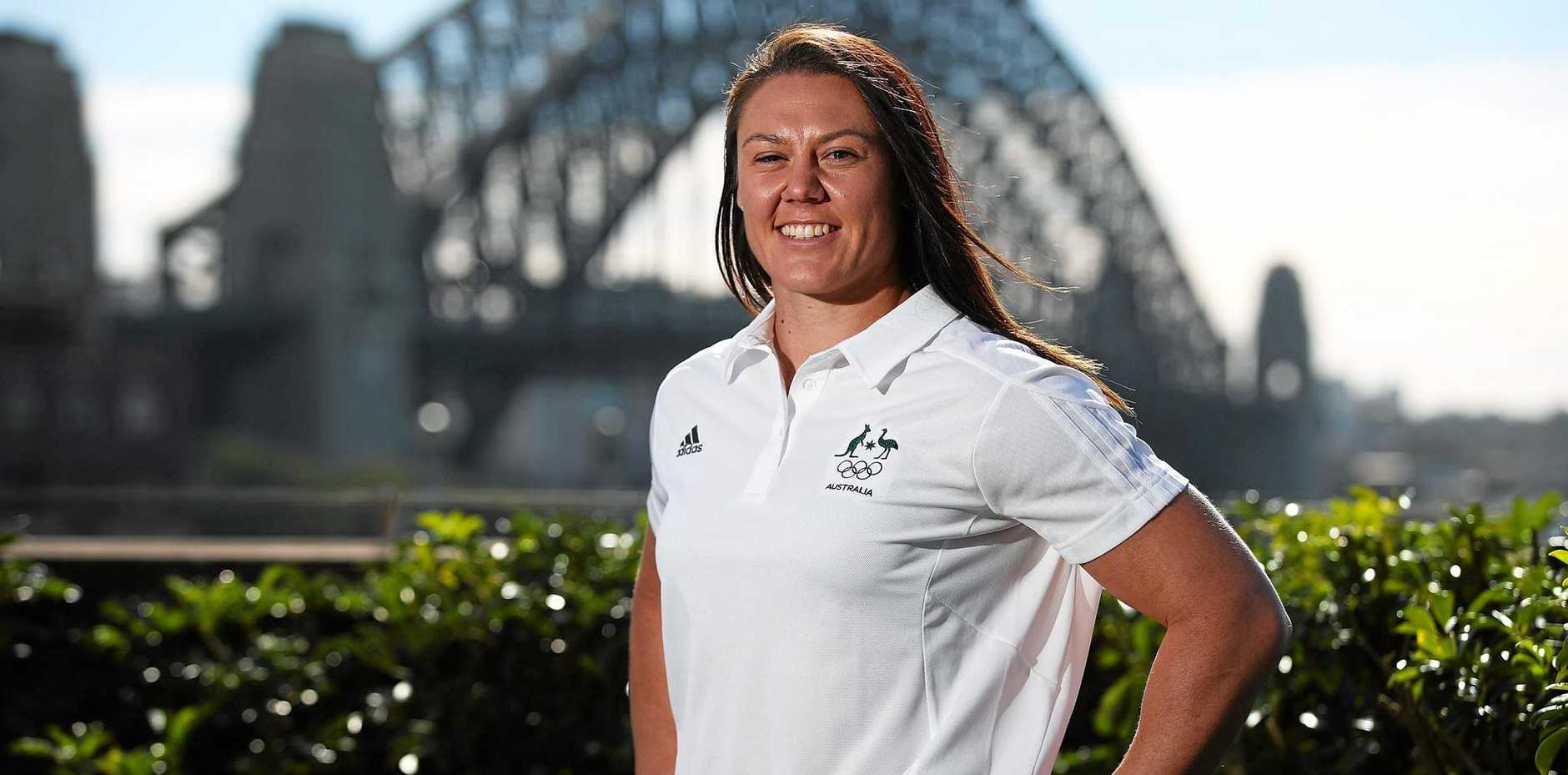 MEDAL HOPES: Pearls co-captain Sharni Williams.