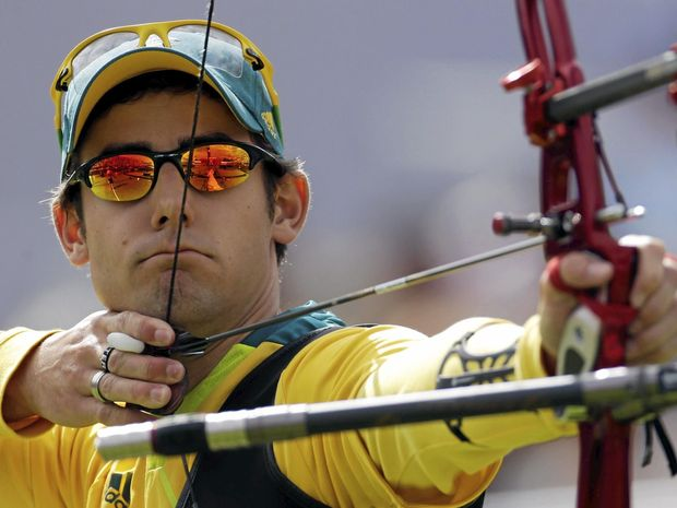 ALL FOCUS: Australia's Taylor Worth at the 2012 Games.