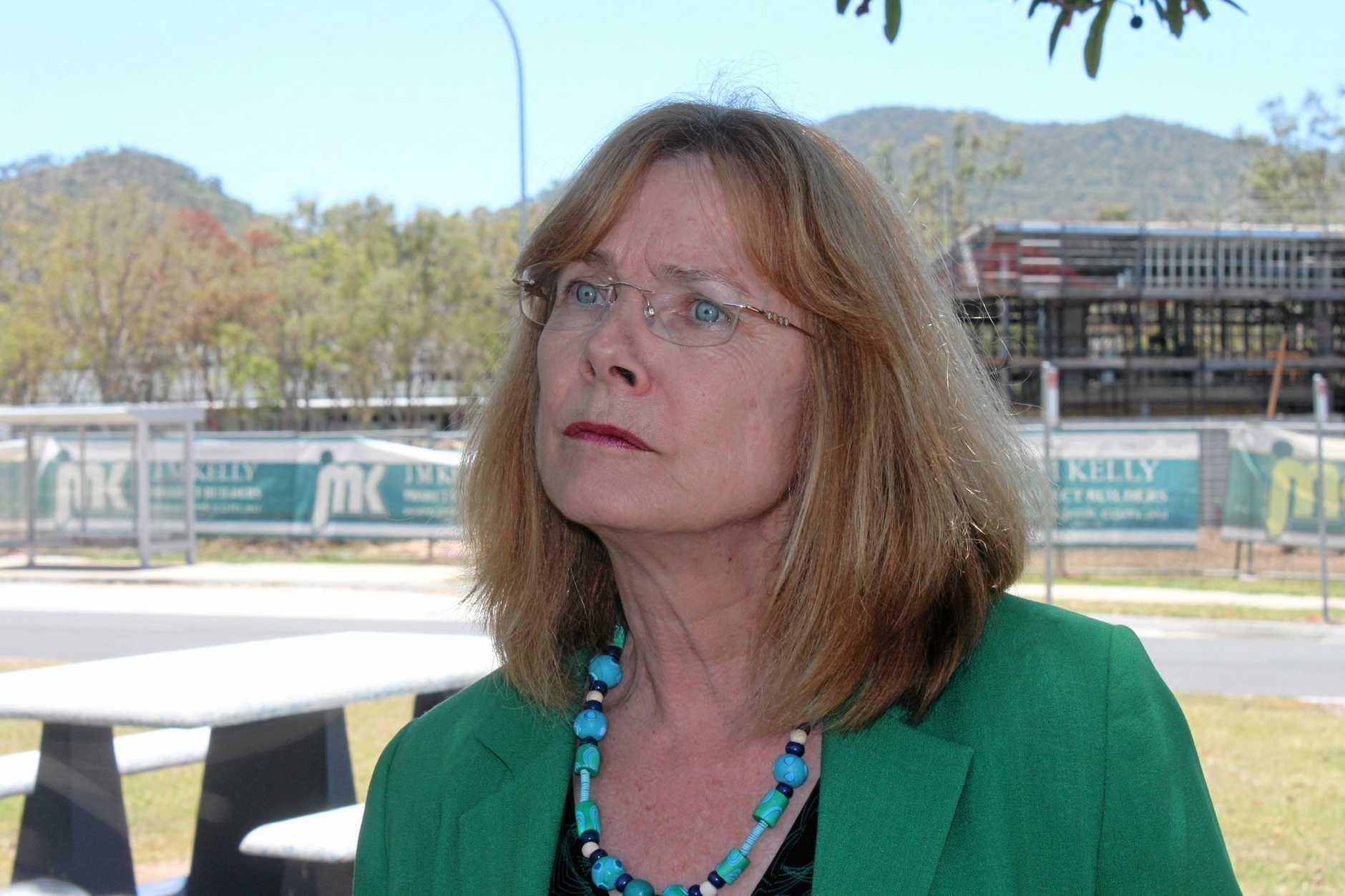 CQUniversity Vice-Chancellor Professor Hilary Winchester