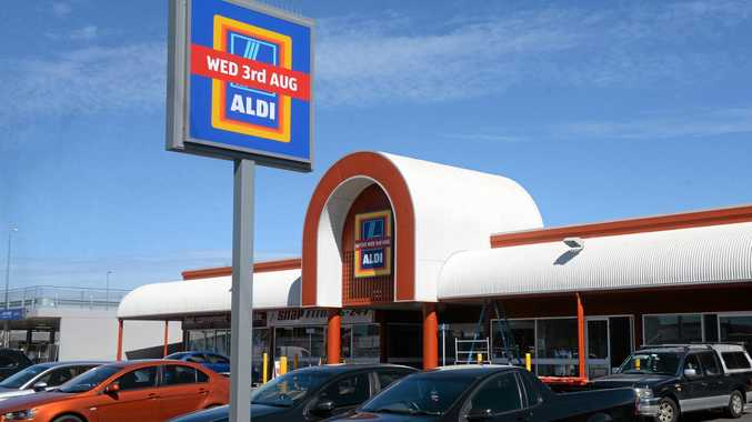 OPENING SOON: Aldi in Maryborough Street opens on Wednesday 3 August.