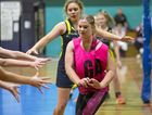 Steph Lockhart (High Flyers) in Warwick netball at WIRAC.