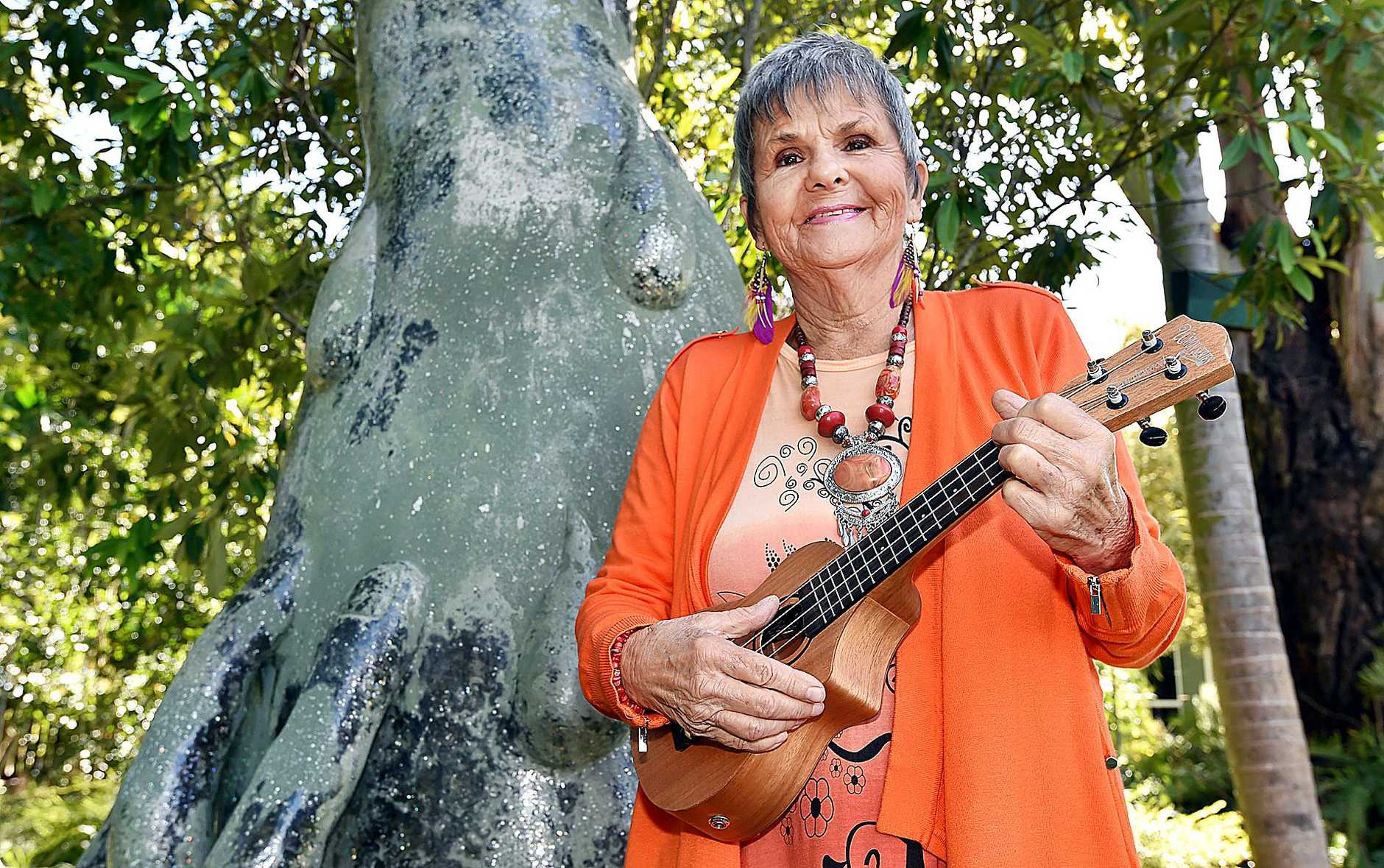 HEALING: Shanti Rahal is heading off to Nepal to play music with the students.