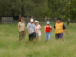 Hardings Paddock has a large variety of walks ranging from 260m to 19km. Source: Ipswich City Council.