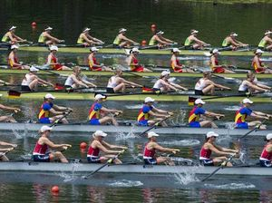 Women's Eight in Olympic rowing after Russian ban