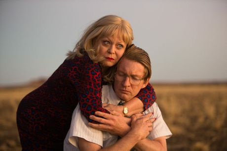 Jacki Weaver and David Wenham in a scene from the movie Goldstone.
