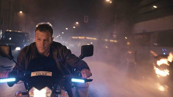 ON A MISSION: Matt Damon in a scene from the movie Jason Bourne.