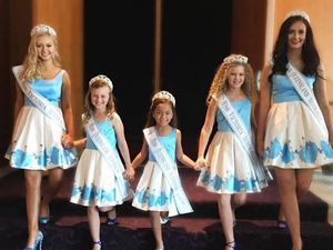 8-year-old pageant queen represents Kingaroy in America