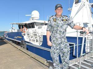 ADV Cape Nelson at Port Bundaberg