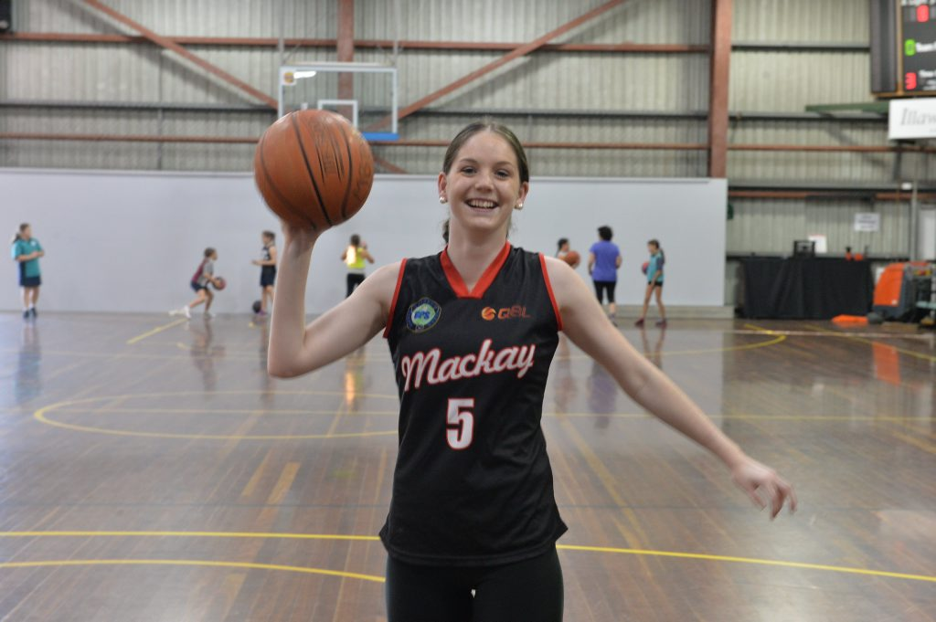 Mackay QBL star Kelsey McDermott all smiles ahead of her move,