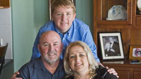 REGISTER FOR HEALTH: Greg, Lachlan and Rhonda Miles hope that Lachlan's registration for medical cannabis trials will be successful.