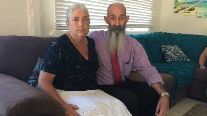 Rachel Antonio's parents Cheryl and Ian Antonio at their son John's home in Bowen after the coronial inquiries findings were released. Photo Lucy Smith / Daily Mercury