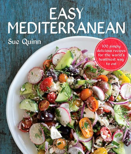 Recipes and images from Easy Mediterranean by Sue Quinn (Murdoch Books), available from August 1 in all good book stores and online.