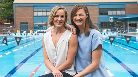 Olympic swimmers Bronte and Cate Campbell will be competing for gold at Rio.