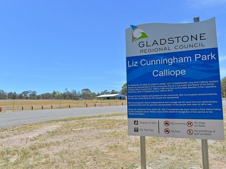The excavation work at Liz Cunningham park at Calliope has been a $780,000 mistake that ratepayers will foot the bill for.