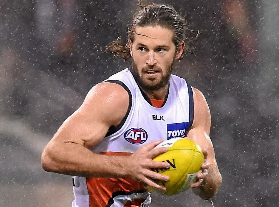 RELENTLESS ENERGY: Giants skipper Callan Ward should lead his side to victory over the Tigers this weekend.
