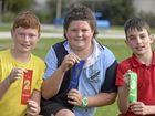 Quinn House wins the sports at Warwick East State School