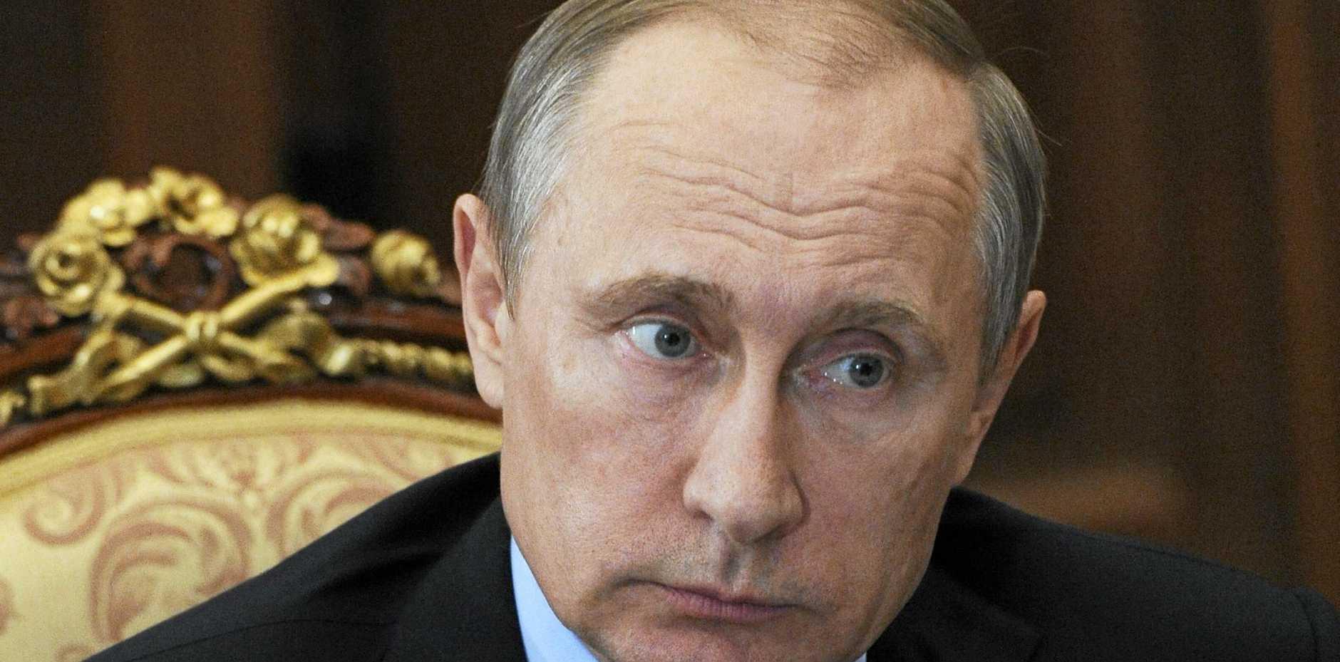 HITTING BACK: Russian President Vladimir Putin.