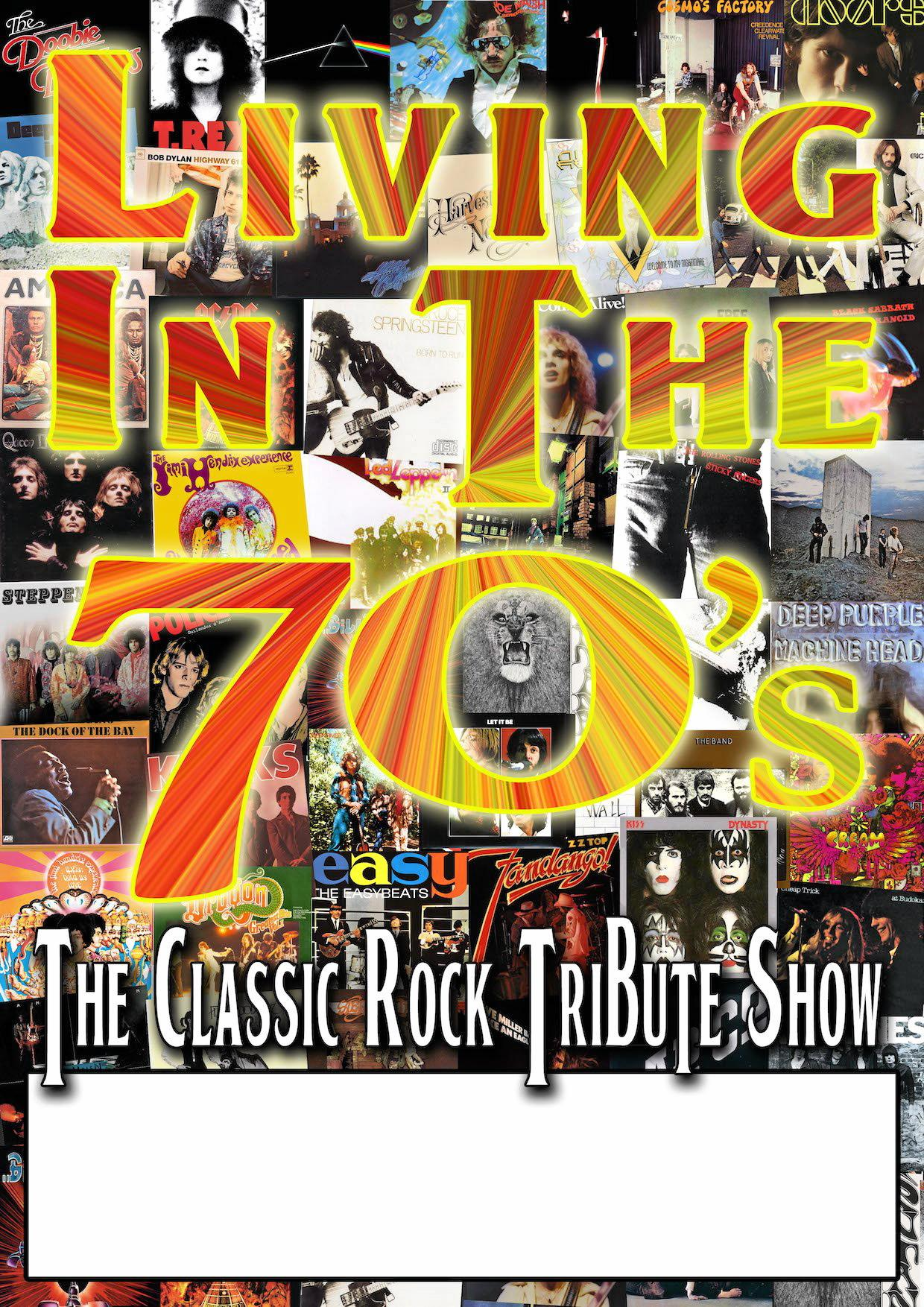 ROCKIN: Living in the 70s Tribute Show will play Cabarita Beach Sports Club on Sunday from 7.30pm.