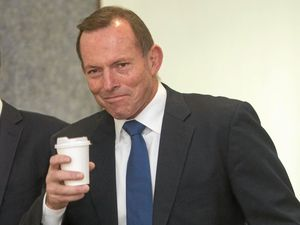 Tony Abbott gets behind Morcombe movie