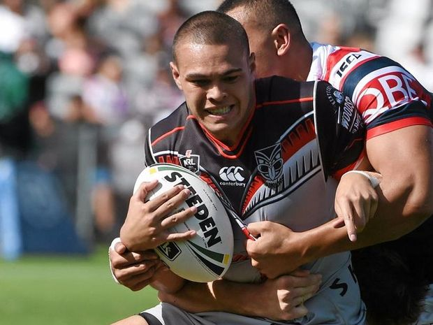 DANGER MAN: Tuimoala Lolohea of the Warriors will start at full back this weekend.