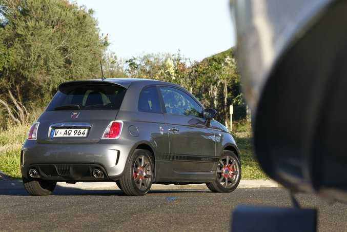 2016 Abarth 595 based on the Fiat 500. Photo: Iain Curry / Sunshine Coast Daily