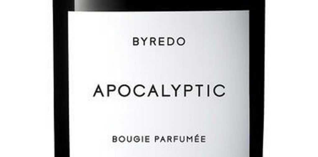 BYREDO Fragranced Candle Apocalyptic $94, Mecca Australia, mecca.com.au