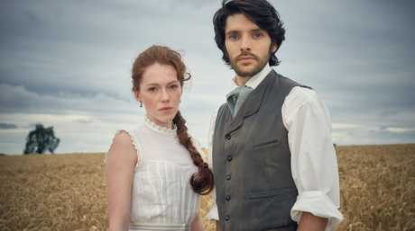 Charlotte and Nathan Appleby are the lead characters in The Living and the Dead. Photo: BBC