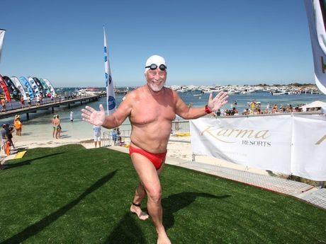 Chris Shapland plans to swim the English Channel. Photo Contributed