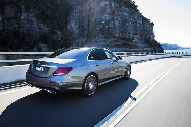 2016 Mercedes-Benz E-Class. Photo: Mark Bramley