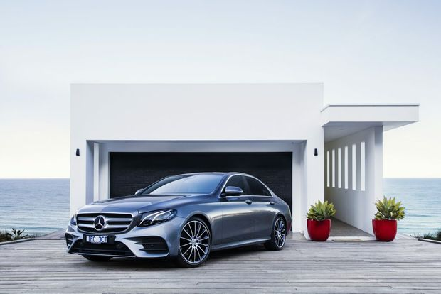 2016 Mercedes-Benz E-Class. Photo: Mark Bramley