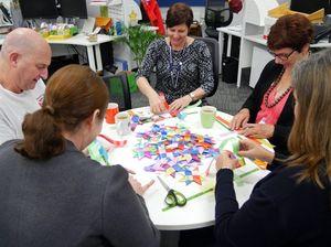 Volunteers needed for craft project