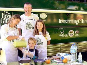 Big green bus to bring healthy message