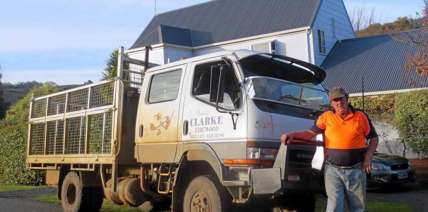 Tassie Truckin':   Barry Clarke