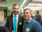 TSBE's latest Enterprise evening. Neil McCabe from Perfect Earth and Michael Thompson from Apricity Finance.