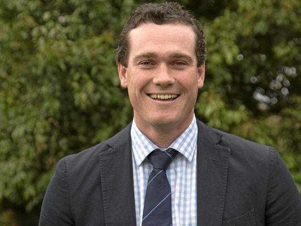 NAB Agribusiness Rising Champion finalist Jeremy Cummins.