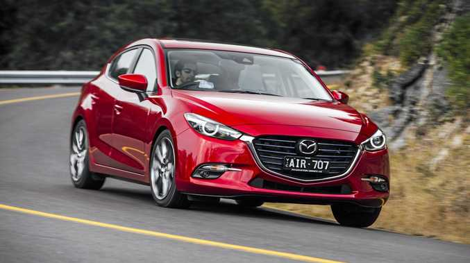 FRESH-FACED: The popular Mazda3 now has improved driving dynamics and safety.