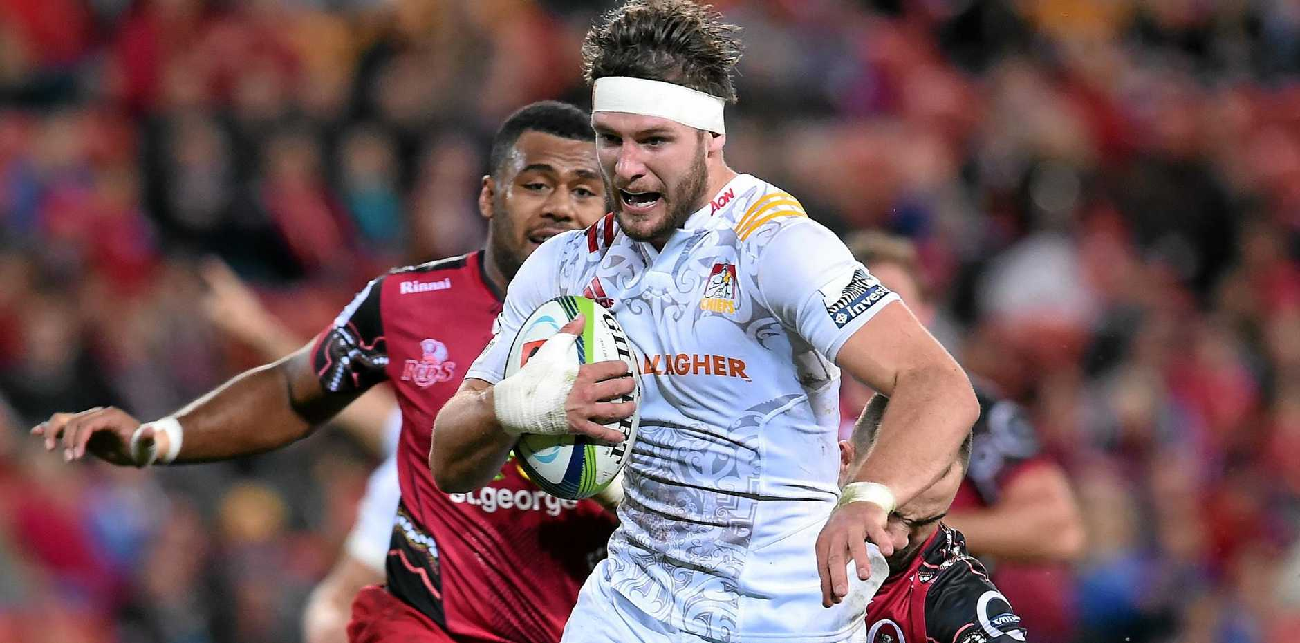 FITNESS BOOST: Sam Cane of the Chiefs is back on deck for the Super Rugby semis.