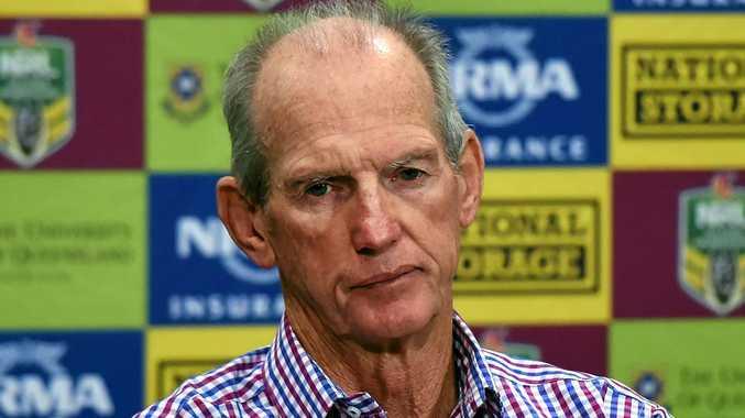 NO PANIC: Brisbane Broncos coach Wayne Bennett.