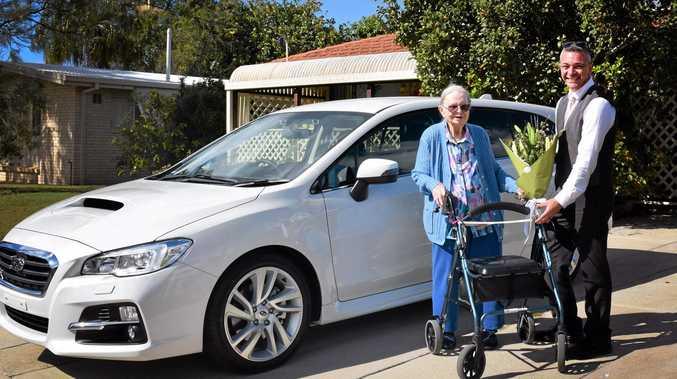 TRUE BELIEVERS: Ali Zengin and Doris Chambers are unashamed Subaru fans.