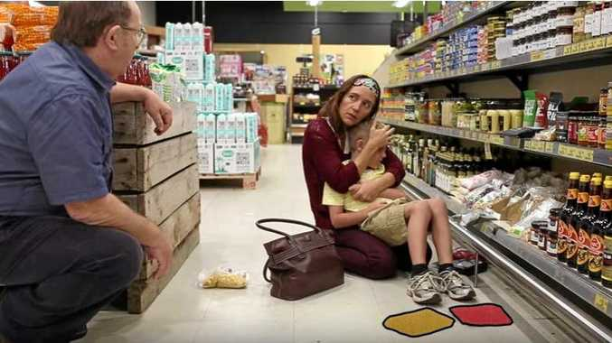 A television advertisement, produced in Nambucca Heads by Nancy Sposato, depicts the plight of a mother shopping with her child who faces surprising inclusion, warmth and acceptance in the shop. Search