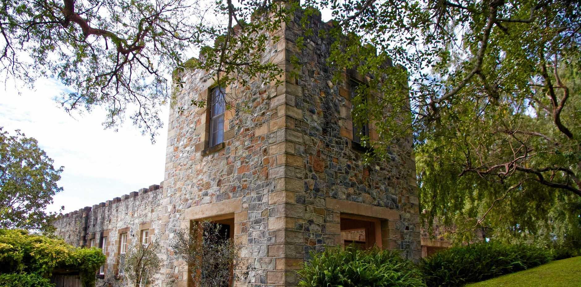Yulgilbar Castle will open to the public on Sunday.