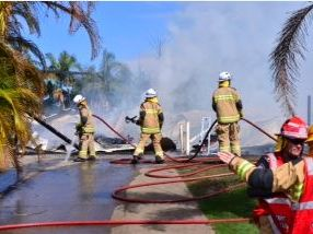 House fire devastation starts to hit home
