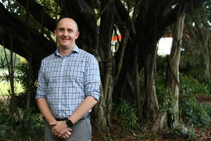 Mackay Tourism general manager Tas Webber,