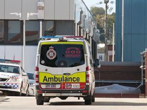 Ambulance attends watch house